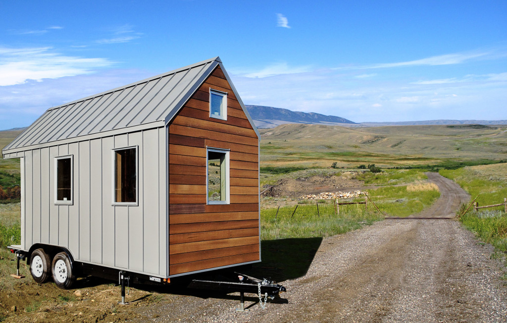 House of the week 150 square feet on wheels zillow for Tiny house zillow