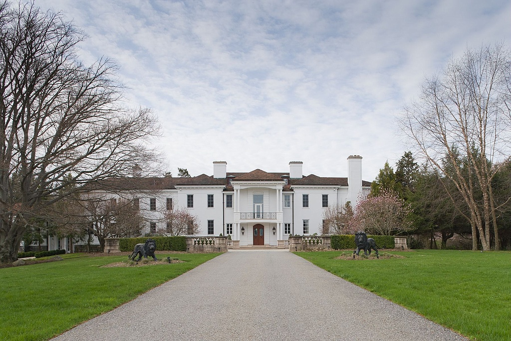 Catherine zeta jones and michael douglas buy new bedford for Bedford new york real estate