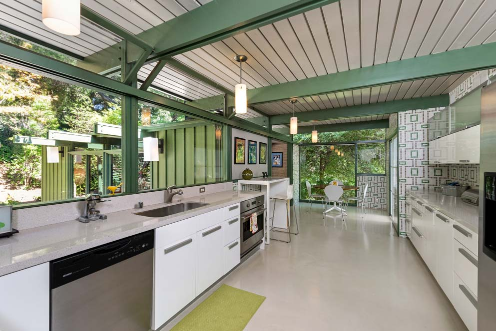 House of the week mid century modern built for an Mid century modern homes for sale houston
