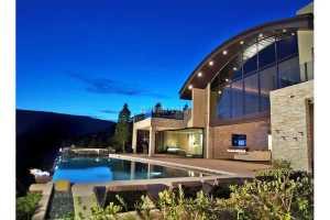 Carlos Santana's home