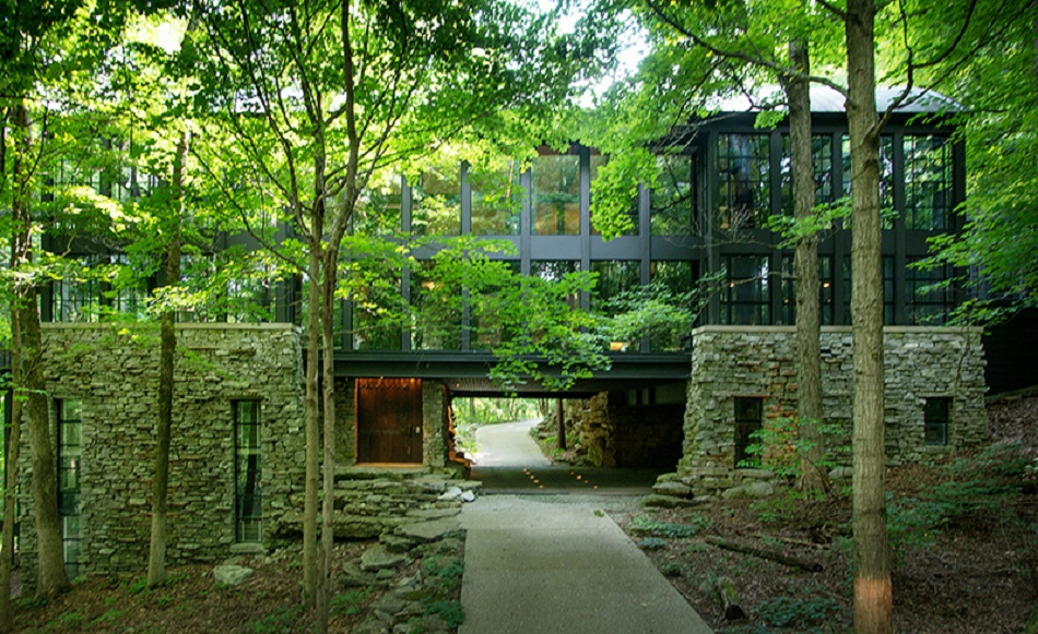 People who live in these 10 glass houses should throw for House plans nashville tn