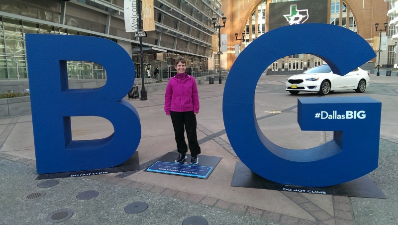Dallas BIG Shot. Photo Source: Tammy Litke of Three Different Directions