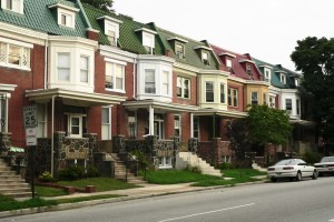 Baltimore townhomes