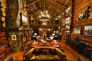 Bill Koch's lodge