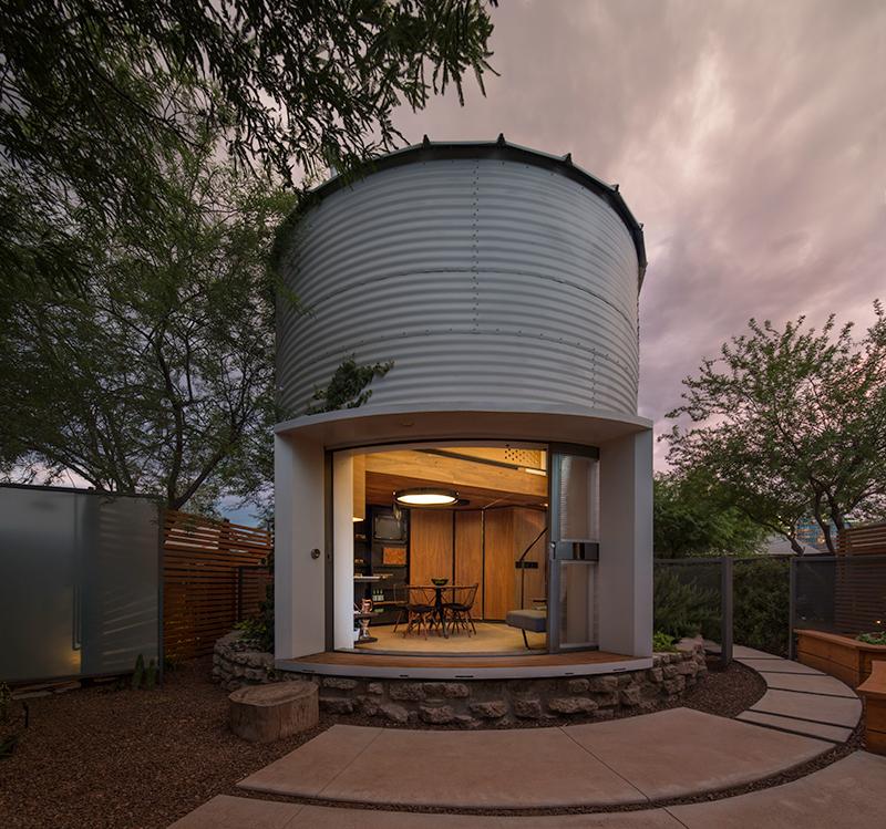 Porch Light Realtor: Saying 'I Do' To A Tiny Grain Silo Home