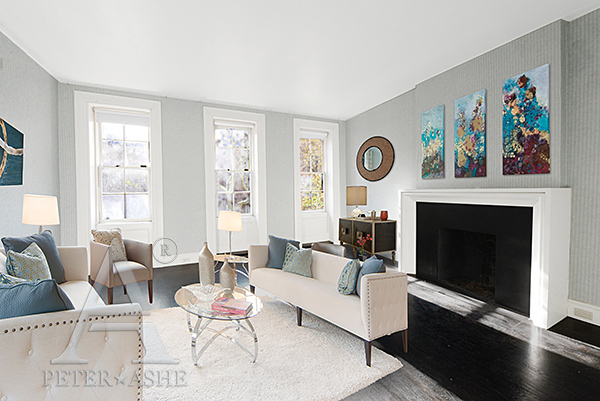 Update breakfast at tiffany 39 s brownstone sells for 7 4 for Makeup by tiffany d living room