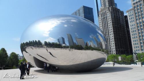 Chicago_Kris_Cain-2_Cloud Gate at Millennium Park
