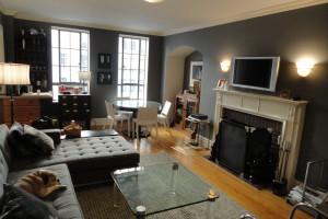 Christina Hendricks' living room