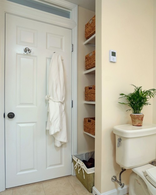 6 DIY Bathroom Storage Tricks
