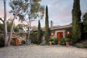 Ellen's Montecito home