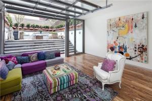 Heidi Klum's living room