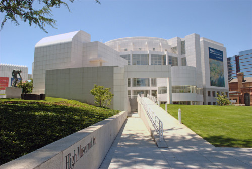 Atlanta's High Museum of Art. Source: sapoague via Flickr Creative Commons