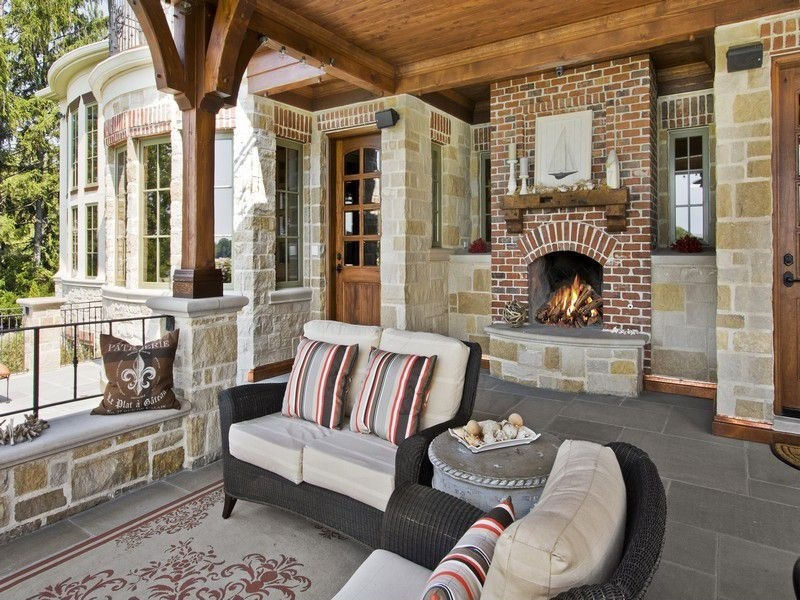 Homes For Sale Charlottesville Va 4 Outdoor Fireplaces Perfect For Fall Entertaining