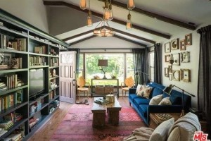 Ian Harding's living room