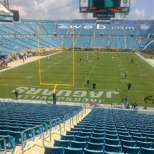 EverBank Field where the Jacksonville Jaguars play. Source: Dana DeVolk
