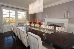 Jennifer Lopez's dining room