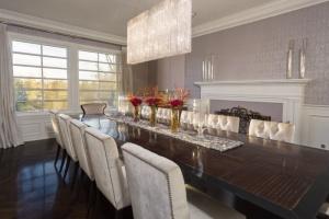 Jennifer Lopez's dining room