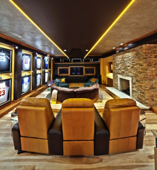 Man Cave by Schill Architecture