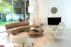 Mark Hoppus' living room