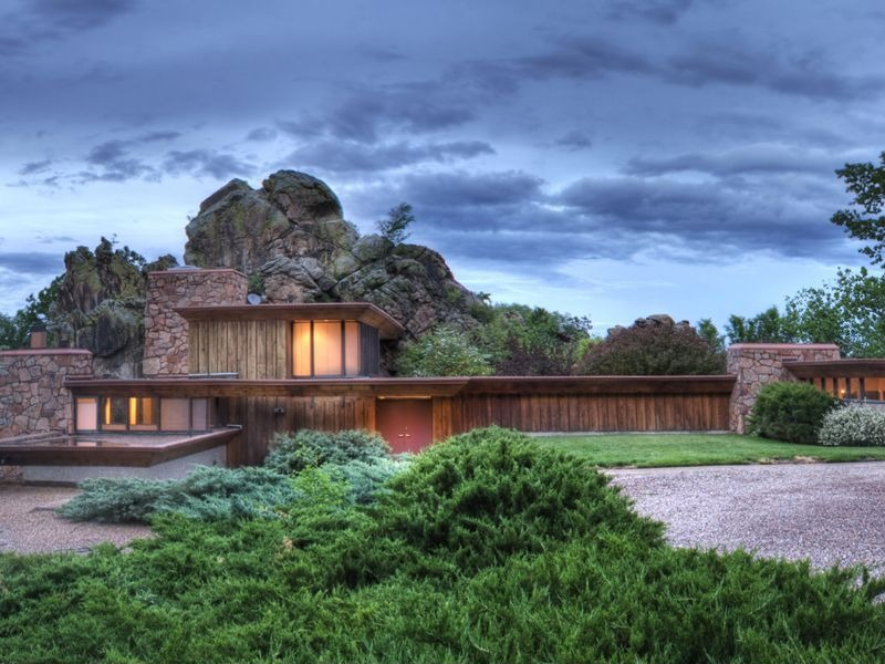 House of the week boulder co home built on a boulder for Building a house in colorado