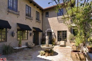Mischa Barton's home