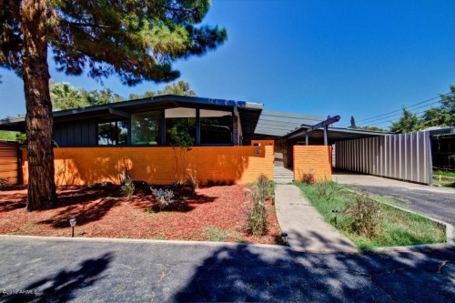 For sale mid century homes with modern upgrades zillow porchlight Model home furniture auction phoenix az