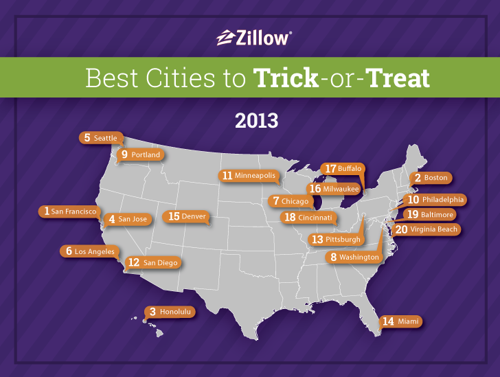 2013 Trick-or-Treat Map