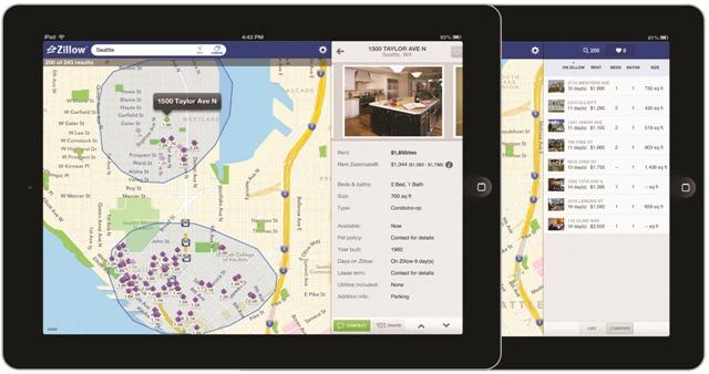 Rentals iPad_Landing pg