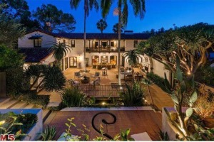 Robert Pattinson's home