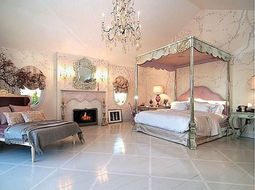 Romantic Bedroom Celebrity