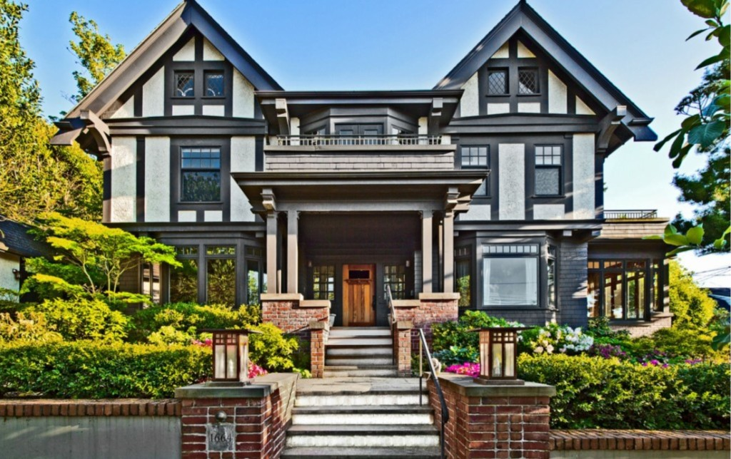 Timeless doesn t mean traditional in these tudors zillow for Tudor style homes for sale