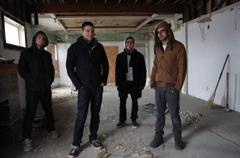 Tim, Sean, Scott, and Max