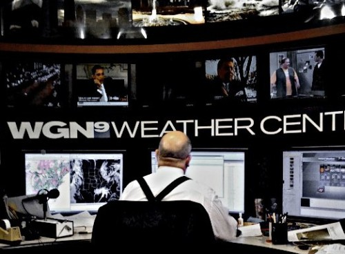 The WGN Weather Center. Source: Monika Thorpe via Flickr Creative Commons