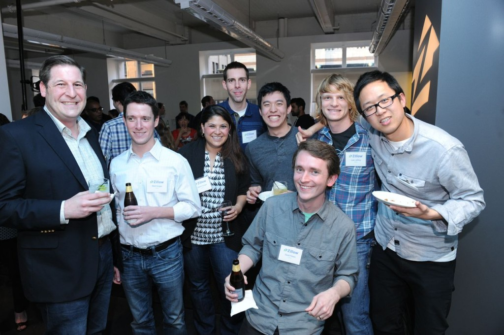 Z employees with drinks
