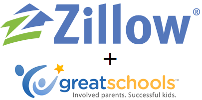 Zillow and GreatSchools