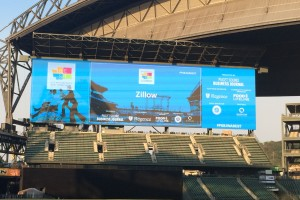 Zillow on screen