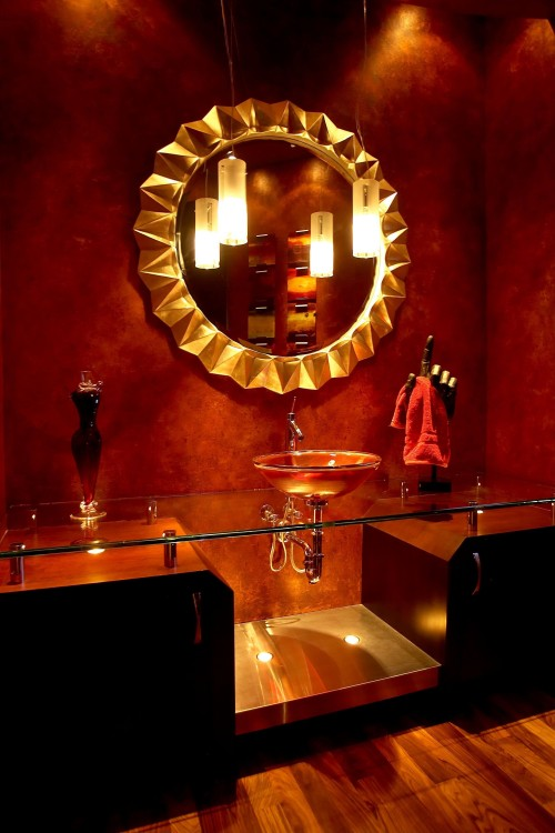 bathroom lighting by PURE Design