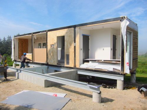 Should i buy a modular home - Container home foundation ...