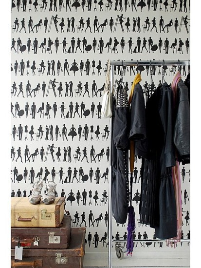 A simple wardrobe rack is a great closet alternative.