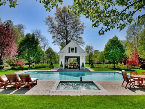 Dig this trend lavish pools zillow porchlight for Pool design hamptons