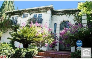 robert pattinson's rental home