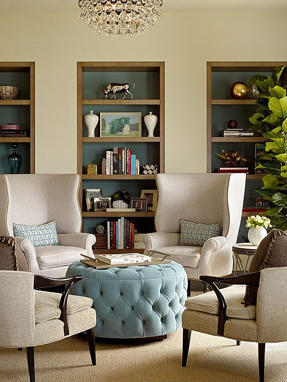 Simple chairs are a polished choice for a traditional room.