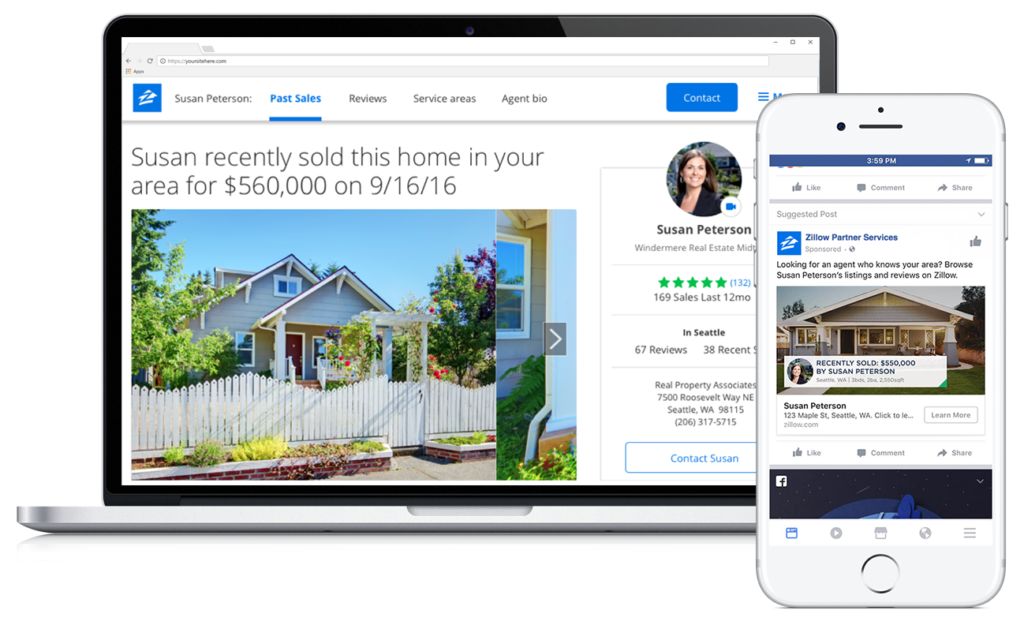 Zillow Just Partnered With Facebook Introducing Seller