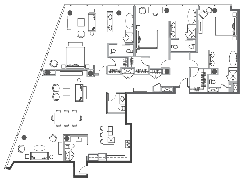 Types of apartments in nyc streeteasy for Typical brownstone floor plan